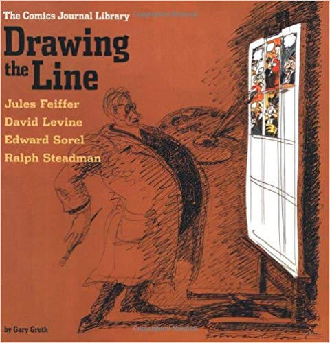 The Comics Journal Library: Drawing The Line