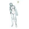 Sundra Figure Marker Outline Pose Animation Art