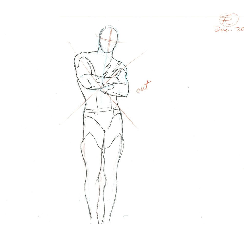 Nexus Body Pose Dec 2018 -Animation Art (3)