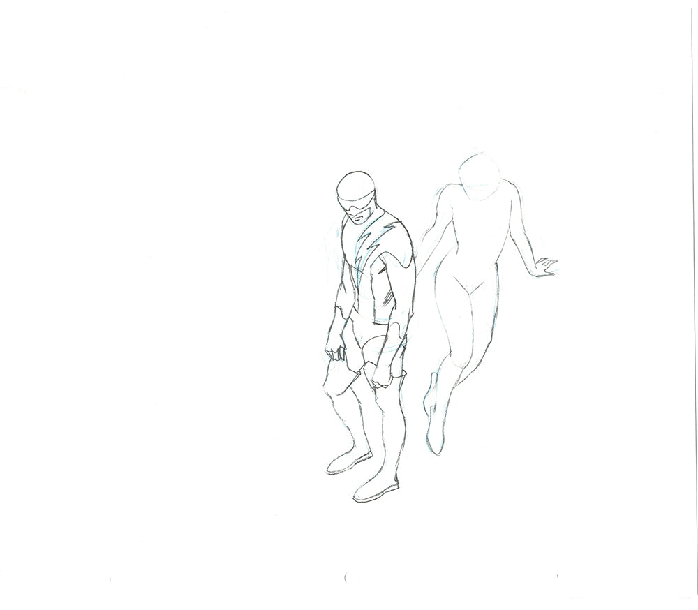 Nexus Body Pose + Blank Pose -Animation Art