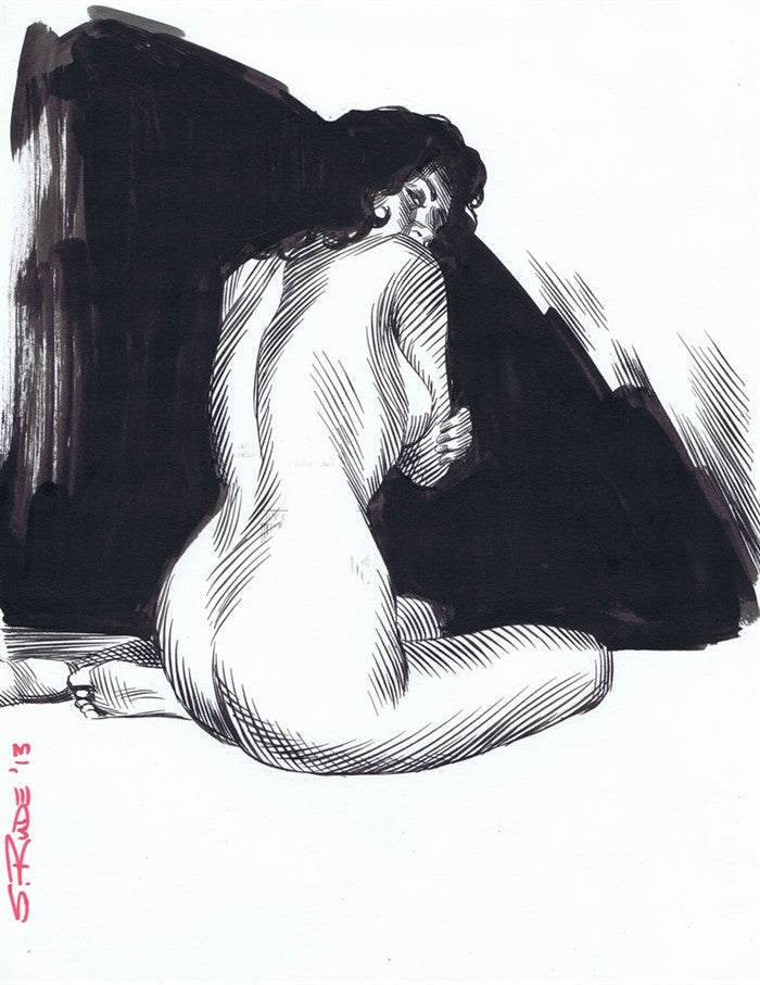 Nude Female Sketch