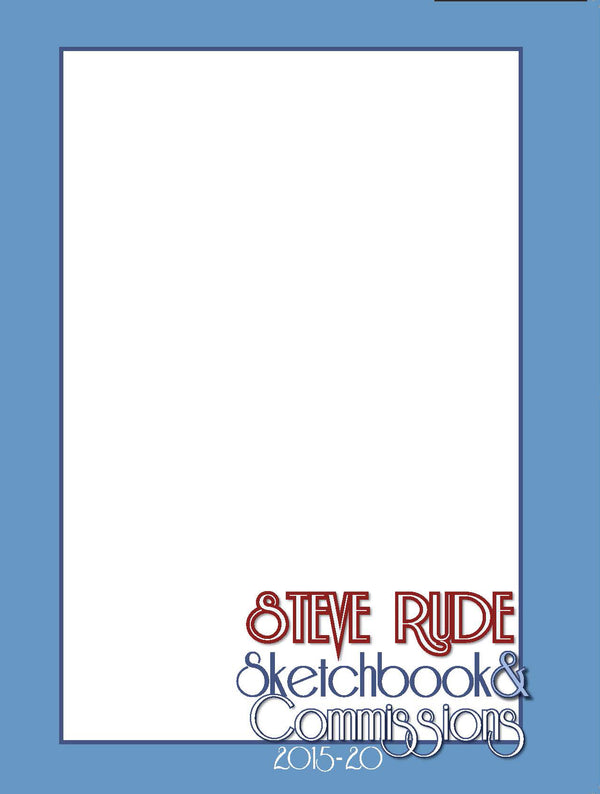 2015-2020 Blank Sketchbook