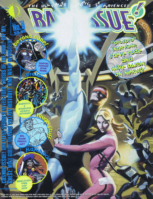 Backissue The Ultimate Comics Expirence! #9 Apr 2005