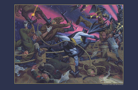 "Batman / World War II 11x17"" LE Print w/COA"
