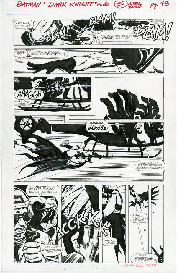 Batman Dark Knight Page 45 Redo