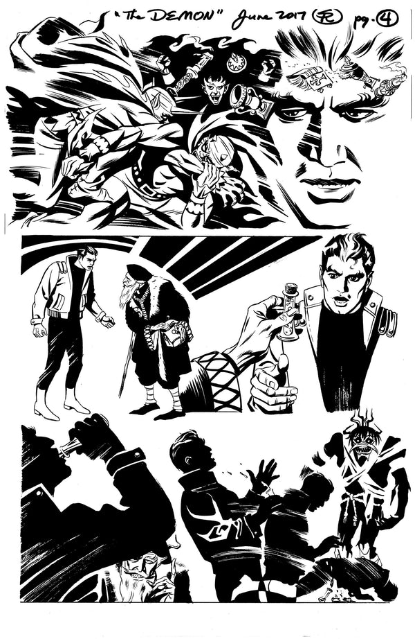 Manhunter 1 Demon Story Page 4