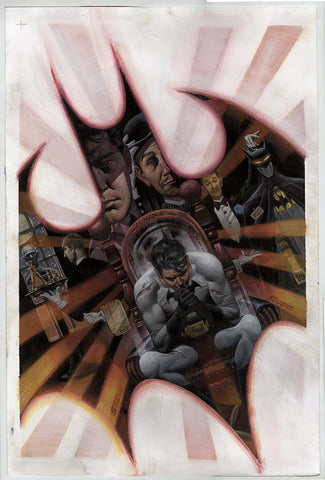 Batman Detective Annual 3 Original Art Patinting