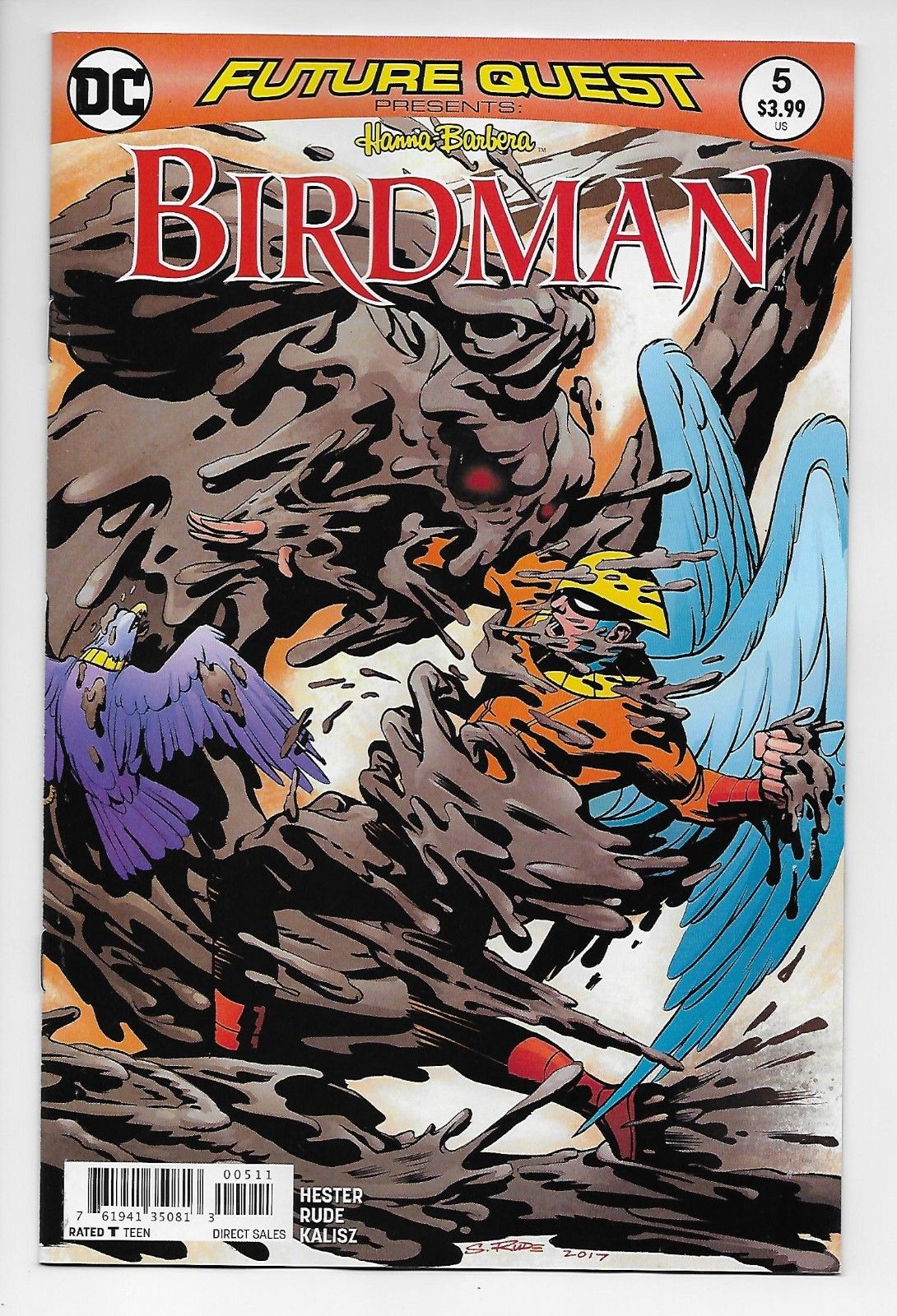 Future Quest Steve Rude Birdman Collected Set