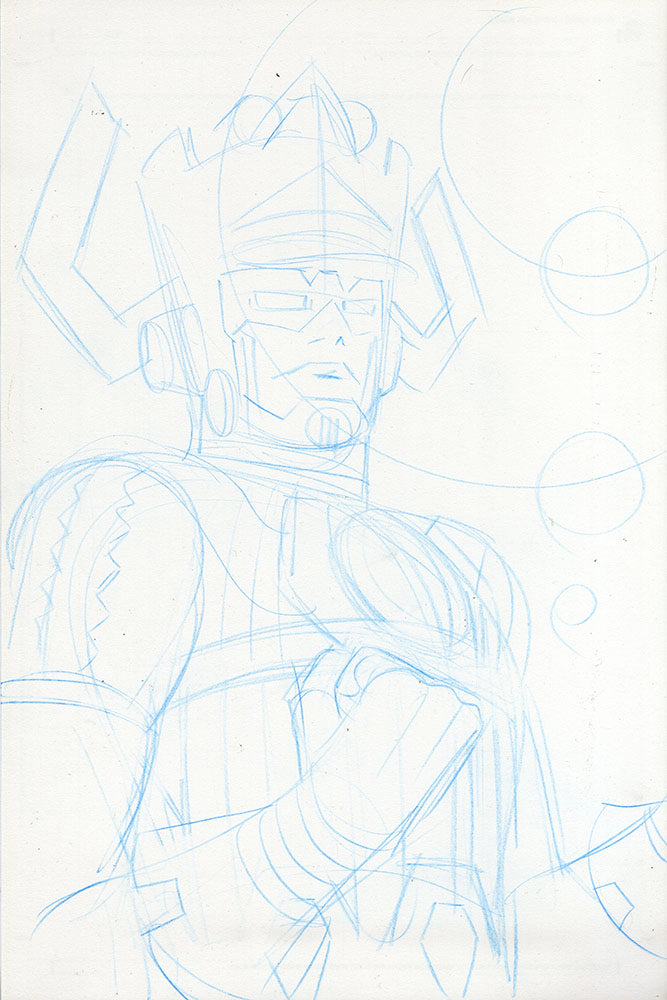 Galactus Sketch - You Choose Finish