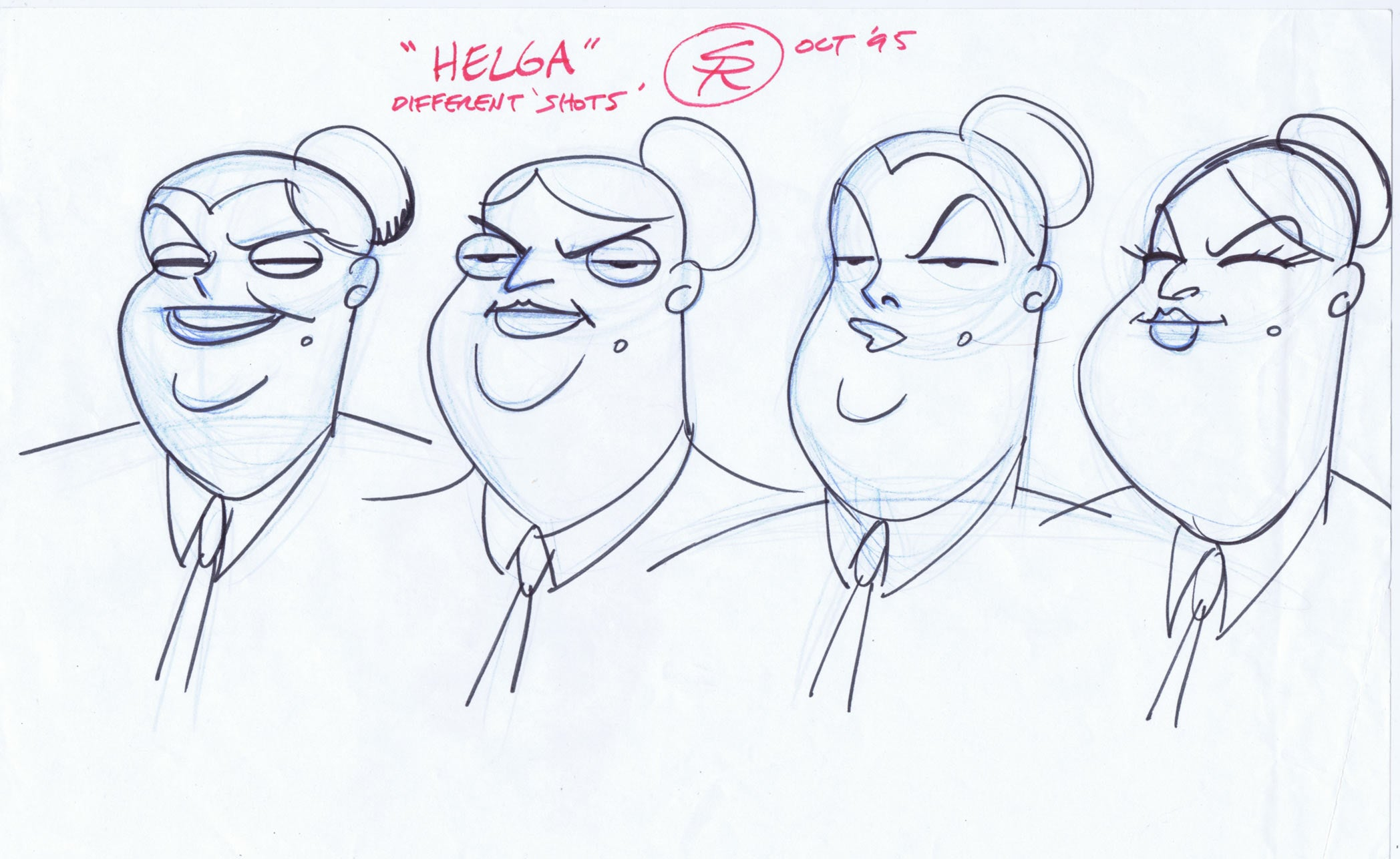 """HELGA"" Animation Artwork"