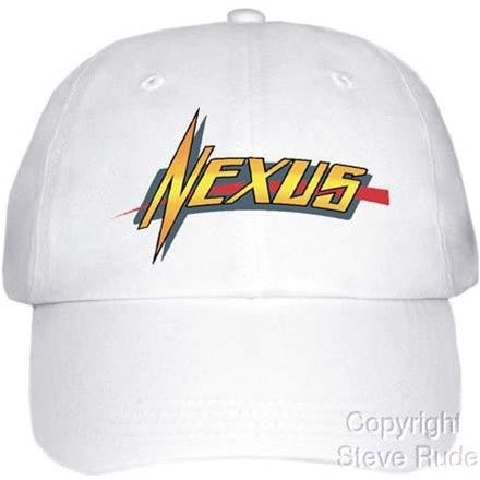 White Nexus Logo Hat