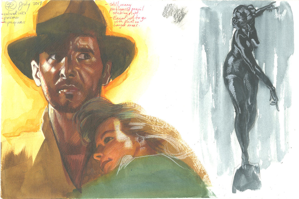 Indiana Jones Harrison Ford Study