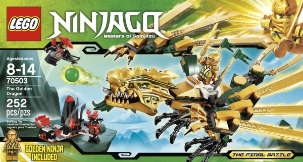 LEGO Ninjago The Golden Dragon  (70503) 100% Complete w/Manual. No box.
