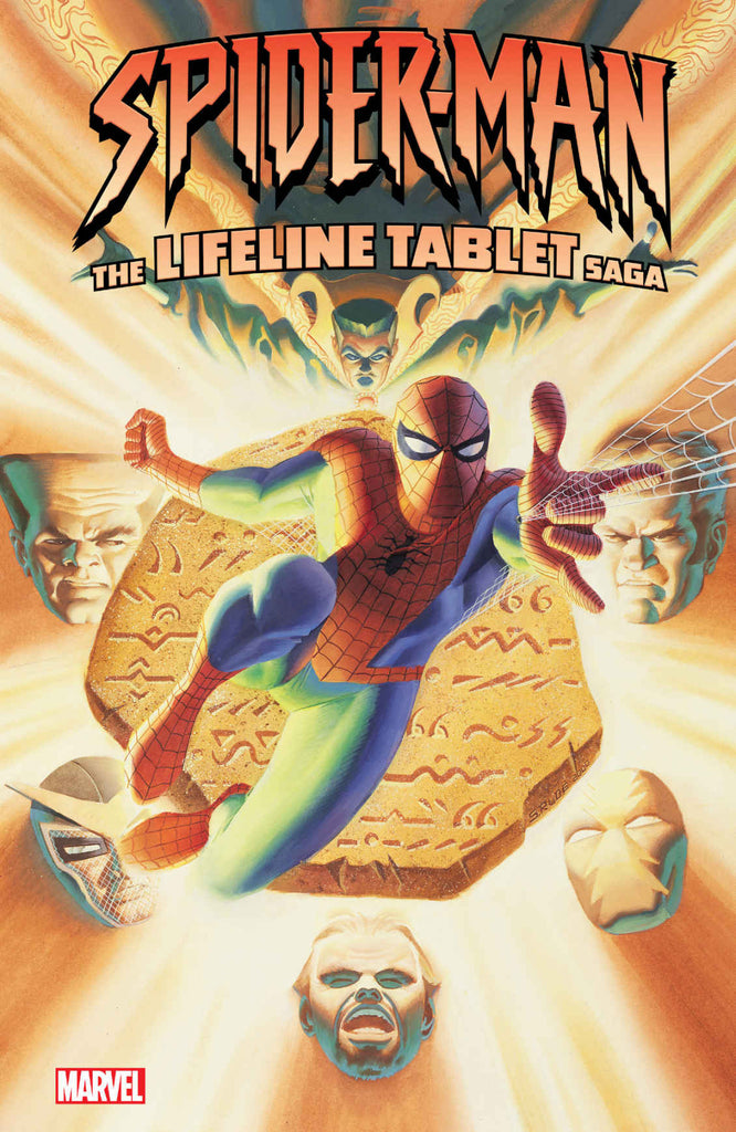 Amazing Spider-Man: The Lifeline Tablet Saga Paperback