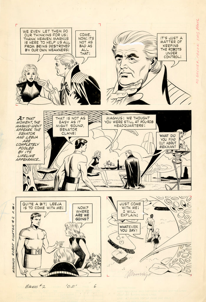 Magnus 2 Page 6 Russ Manning