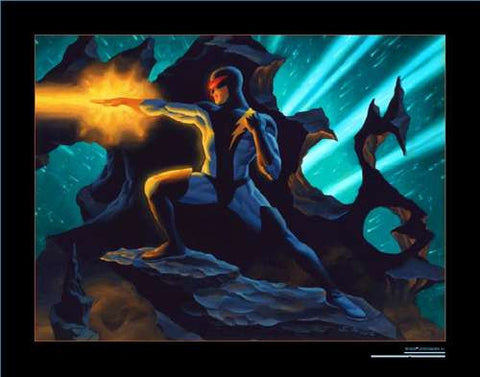 Nexus Statue Lithograph LE Artwork Print