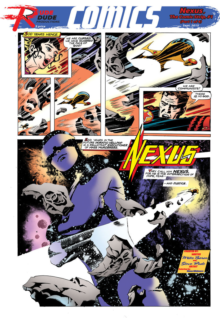 Comic Strip Newspaper #01 - Nexus Strips 1-4