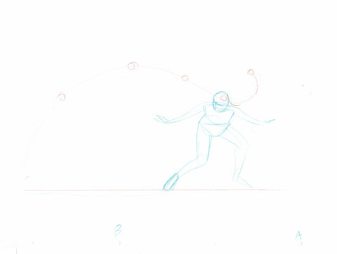 "Sundra Peale 'Sunny"" Flip Rough 2018 (set of 2) - Animation Art"