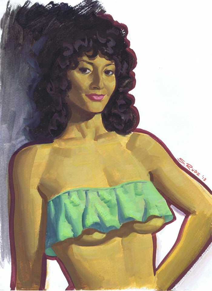 Pam Grier Pinup