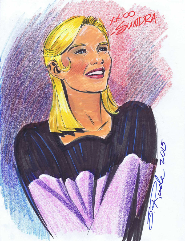 Sundra Peale Prismacolor & Copic Marker Sketch
