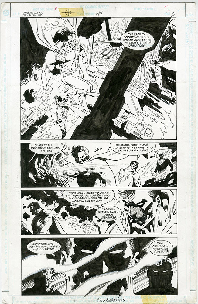 Superman #144 Page 5 Epting /  Rubenstein