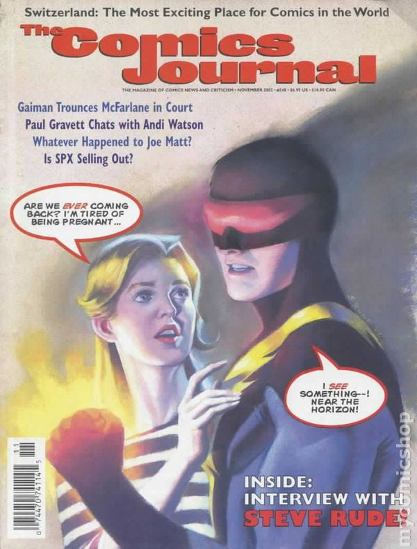 The Comics Journal #248 Nov 2002