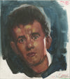 Tom Hanks Painted Study