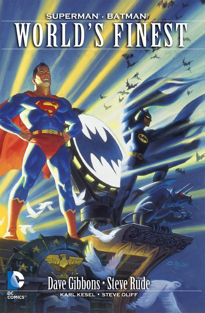 World's Finest (Deluxe) (Superman/Batman) (Softcover)