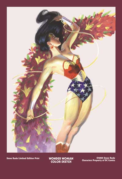 "Wonder Woman 13 x 19"" Limited Edition Print"