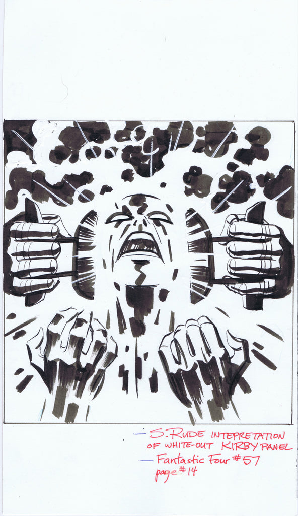 "Interpretation of ""White Out"" Kirby Panel"