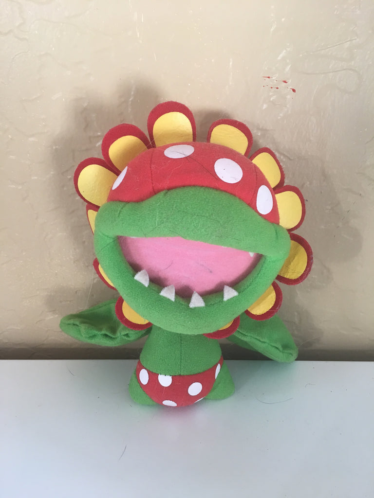 Super Mario Bros. Petey Piranha plushie