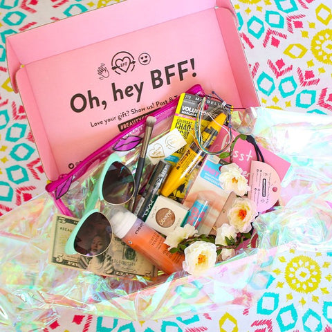 beautycon la bff subsctiption box gold ink flash tattoo
