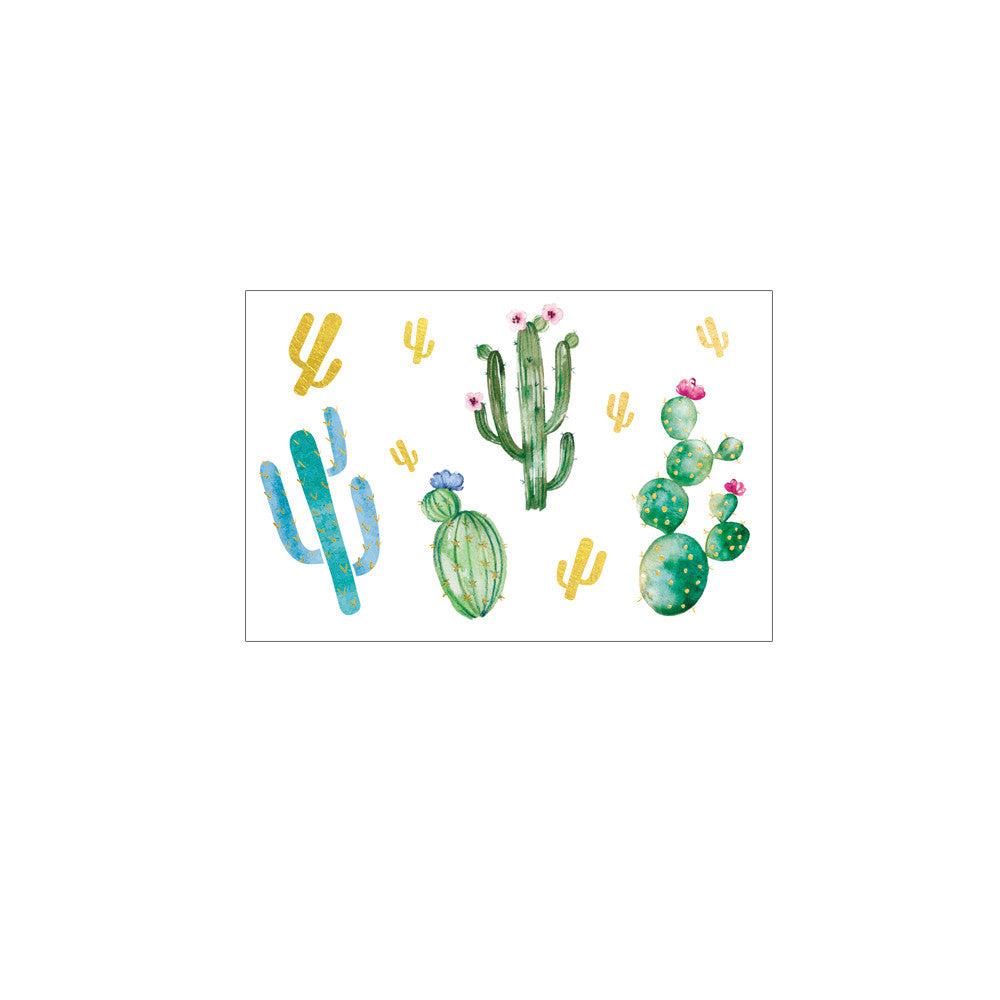 2 PACK Cactuses Tattoo