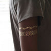 Egyptian Bracelets Goldy Temporary Tattoos, Flash Tattoos Gold