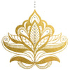 Gold and Silver Henna Temporary Tattoo, Flash Tattoo