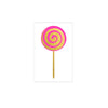 metallic gold Lollipop neon flash tattoos