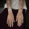 Native Coachella Festival Metallic Temporary Flash Tattoo Gold Jewelry Tattoo