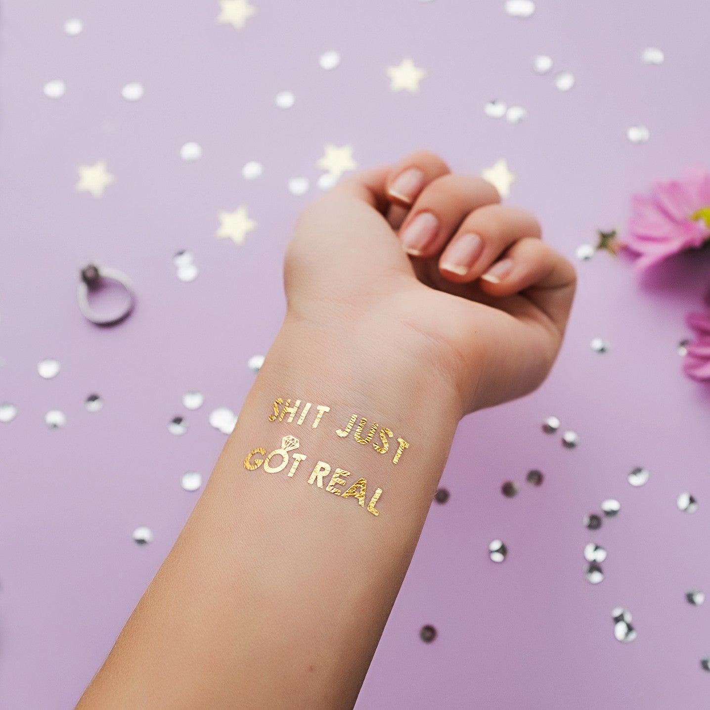 how to make gold tattoo ink