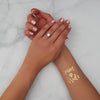 Wedding Gold Flash Metallic Tattoo for Team Bride