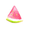 Gold Pink Watermelon slice summertime Flash Temporary Tattoo Party