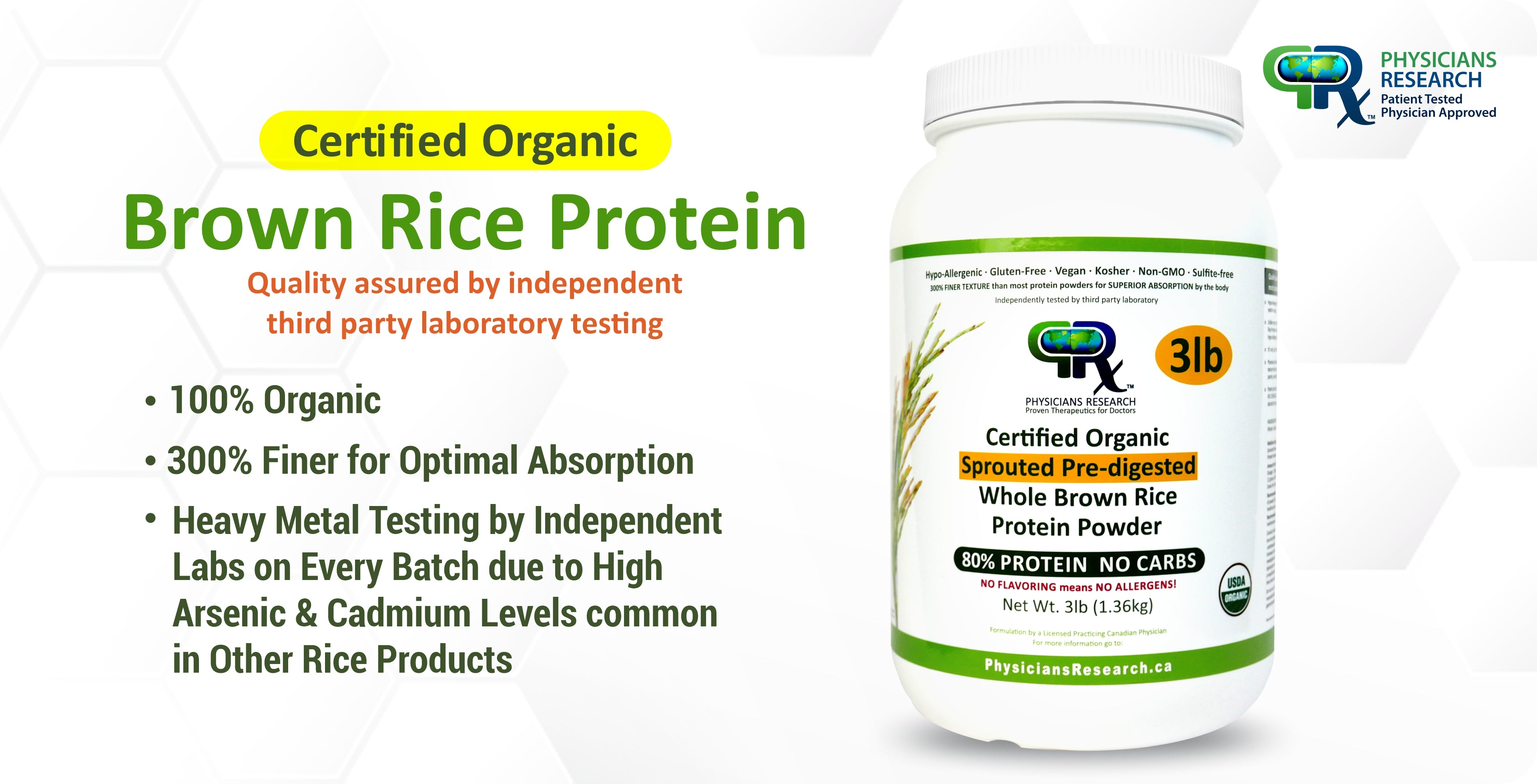 Organic Brown Rice Protein