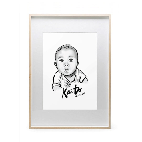 Custom Baby Portrait