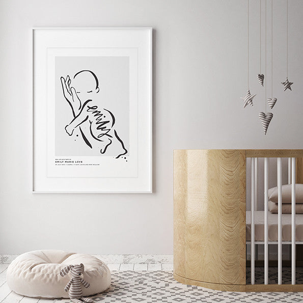 Custom Baby Name Prints