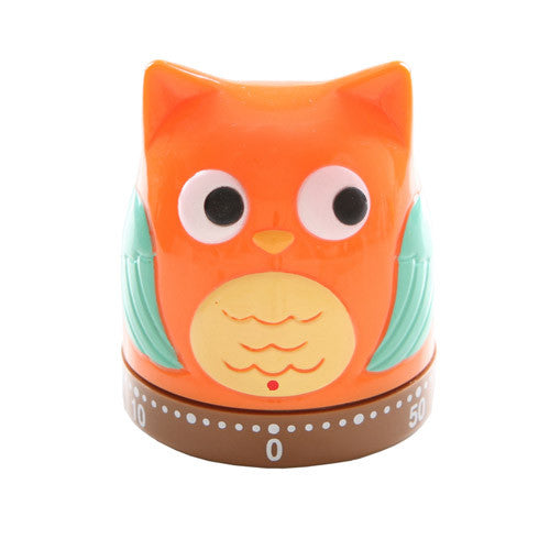 Owl Timer - 60 mins Analog Kitchen Timer