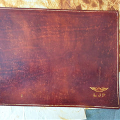 After antique finish and sealer Sparrowhawk Leather NZ