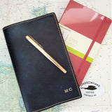 Sparrowhawk Leather's NZ Made leather Journal covers fits Moleskine notebooks (also stocked by Sparrowhawk Leather)