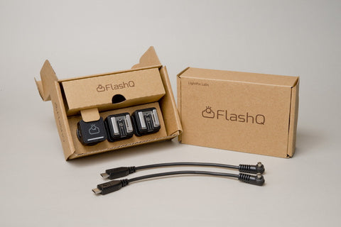 FlashQ Trigger Kit F+ (model T1-S , MIDNIGHT BLACK)