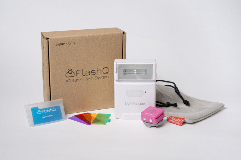 NEW FlashQ Q20 (WHITE) SPECIAL with PINK Transmitter