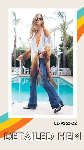 grace in la released split hem flares