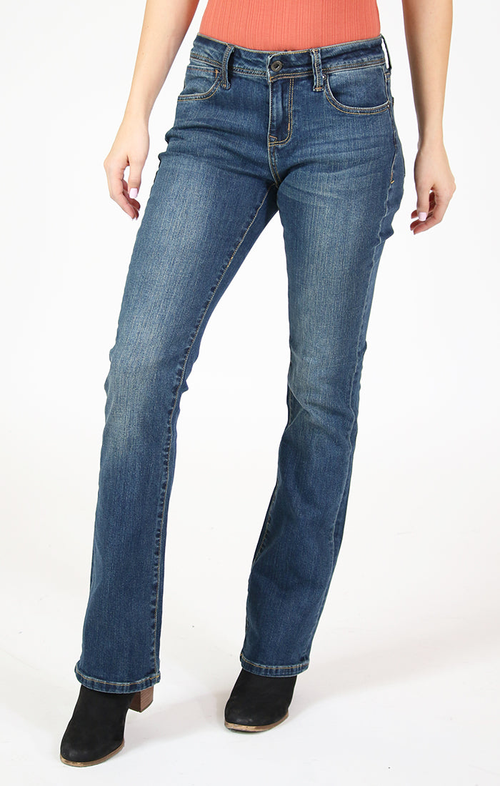"32"" Inseam Classic Easy Bootcut Jeans 